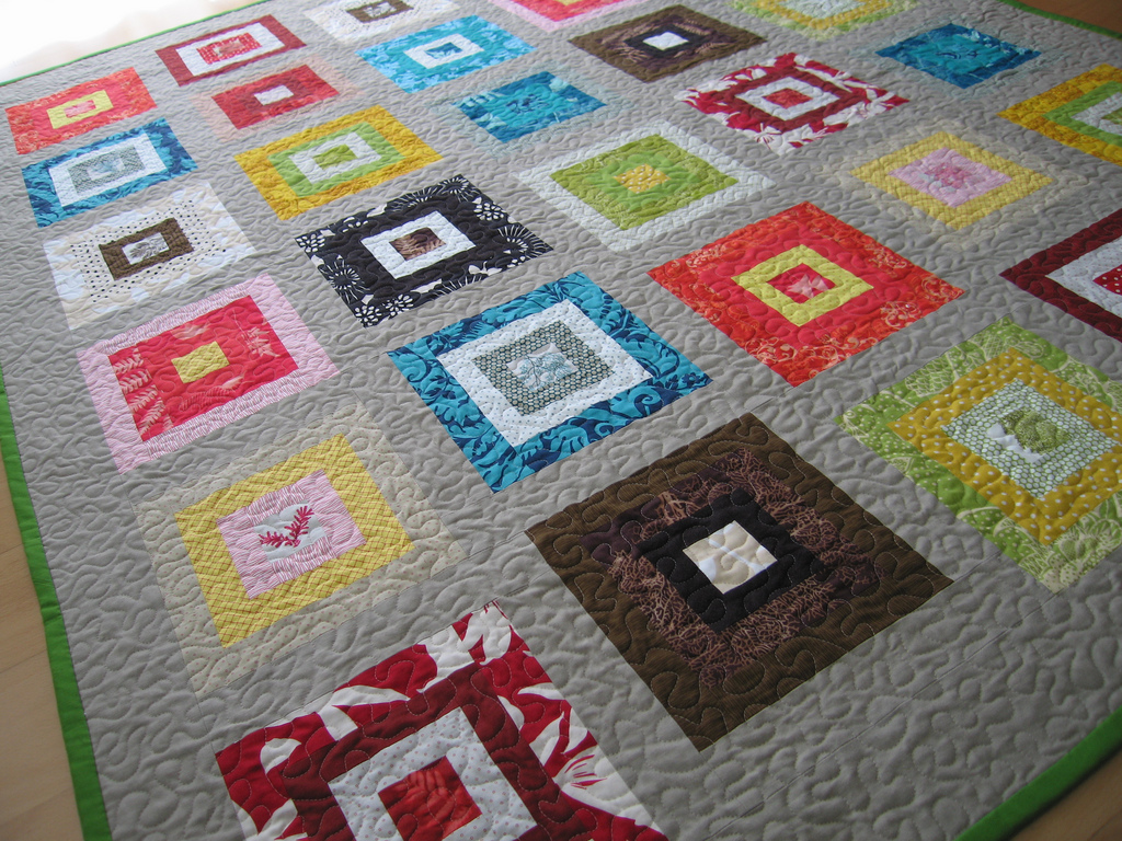 301 moved permanently for Modern house quilt block