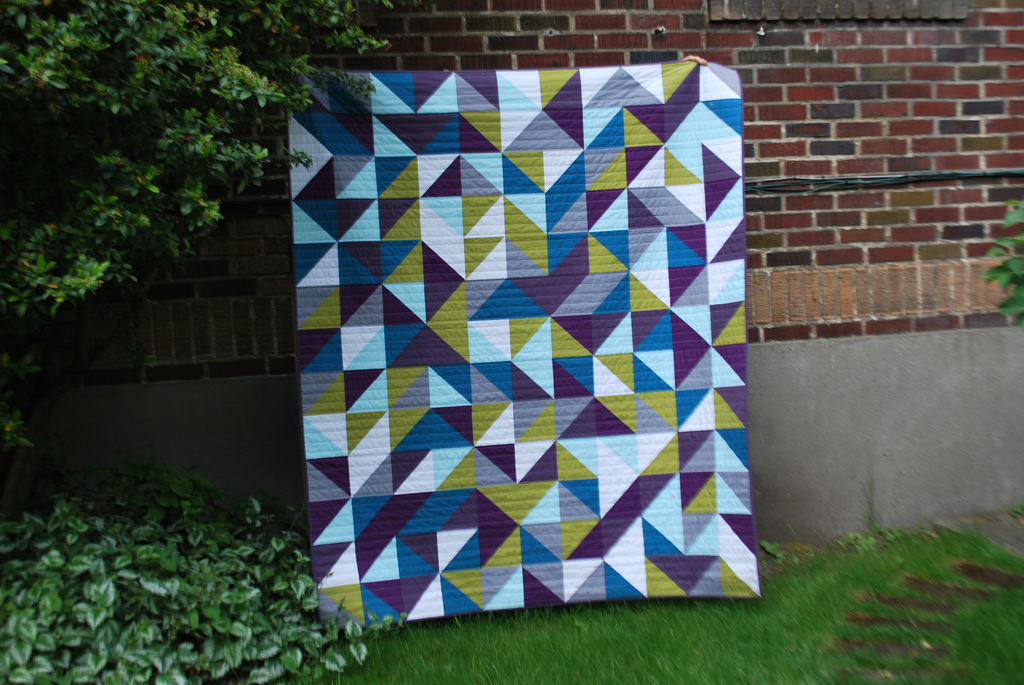 100 Days – Week of Color – Featured Quilt 3 | The Modern Quilt Guild : quilts and color - Adamdwight.com