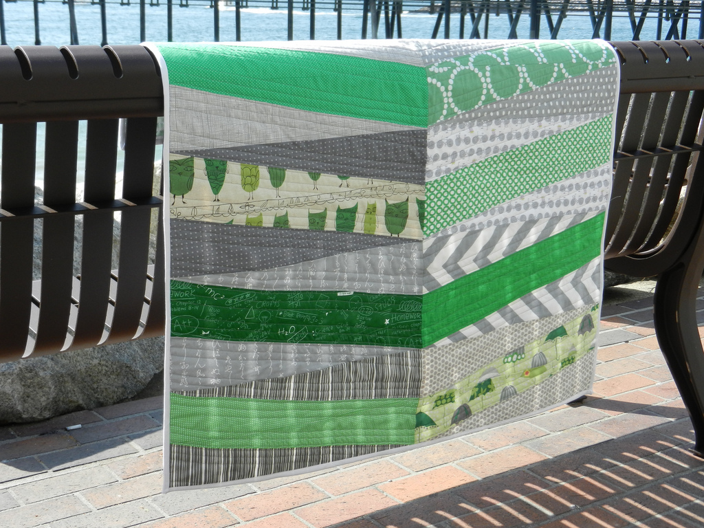 100 Days Week Of Shapes Tutorial The Modern Quilt Guild