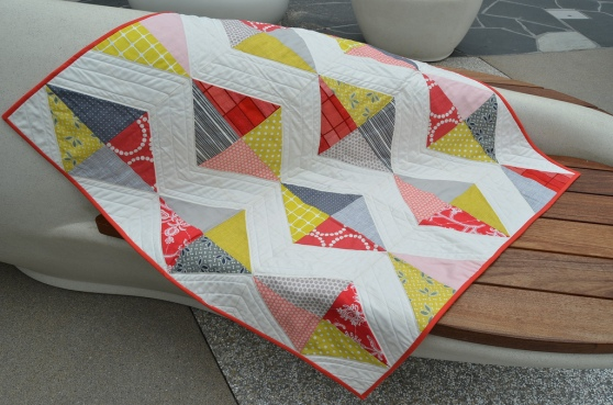 Kite Tails Quilt by Latifah Saafir