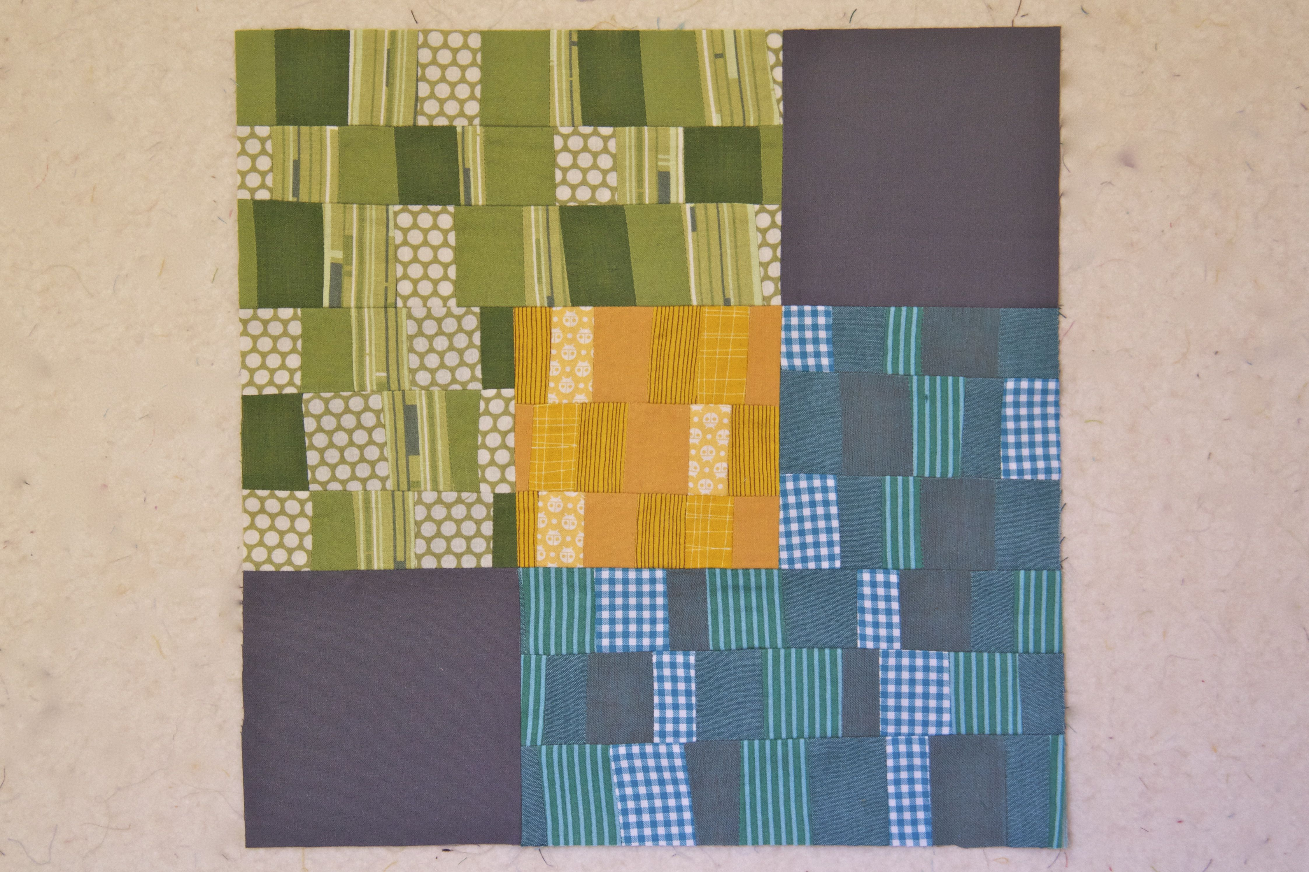 100 Days – Week of Improv – Overlapping Squares Block Tutorial ... : 100 days of modern quilting - Adamdwight.com
