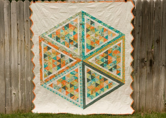100 Days – Week of Shapes – Featured Quilt 1   The Modern Quilt Guild : 100 days of modern quilting - Adamdwight.com