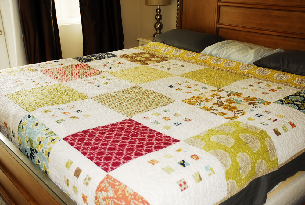100 Days Week Of Prints Featured Quilt 5 The Modern Quilt Guild
