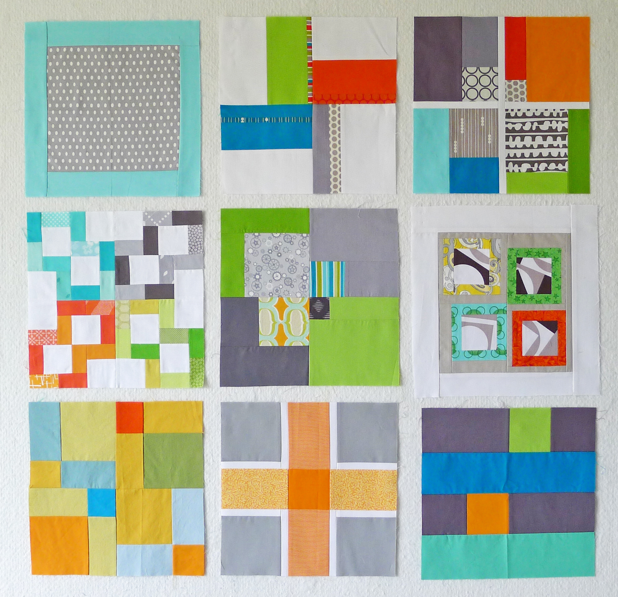quiltcon block challenge graphic squares rectangles boxes the