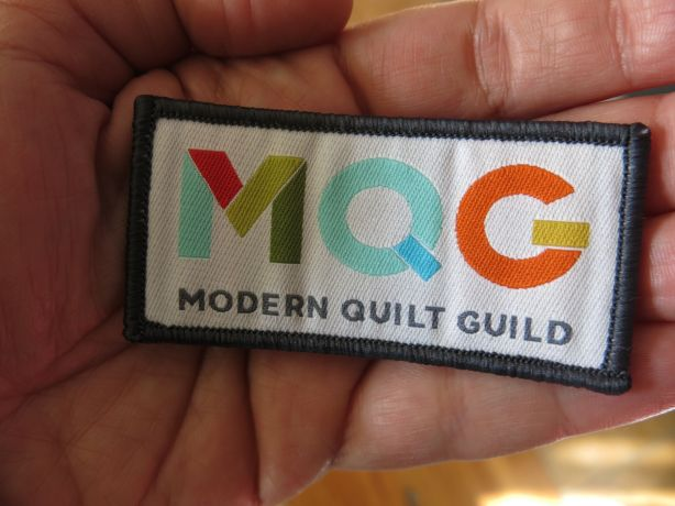 MQG Patch Close up