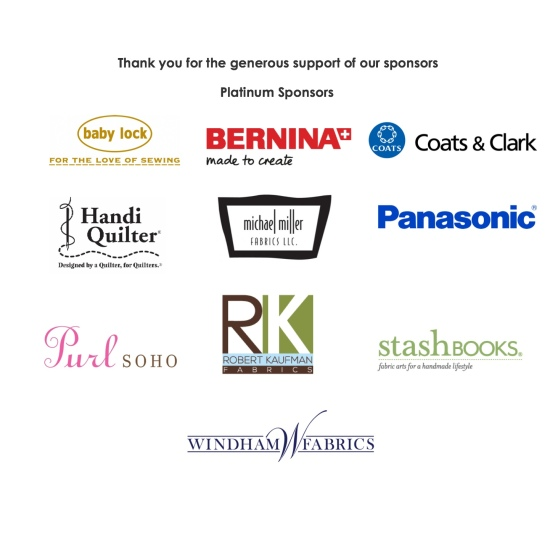 Thank you for the generous support of our sponsors