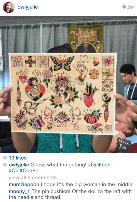 Best of QuiltCon, Instagram Edition | The Modern Quilt Guild : quiltcon tattoo - Adamdwight.com
