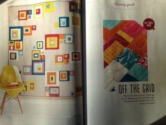 charity quilt mag