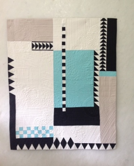"""Riley Blake Challenge Oh Yes It Was"" by Susan Paris, Portland MQG member"