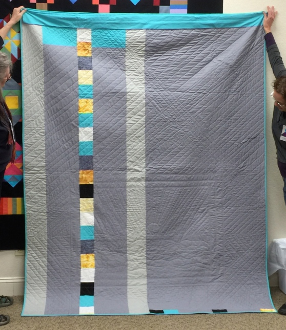 14 Back of Quilt